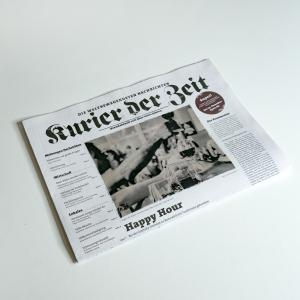 """Zeitung """"Kurier der Zeit"""""""